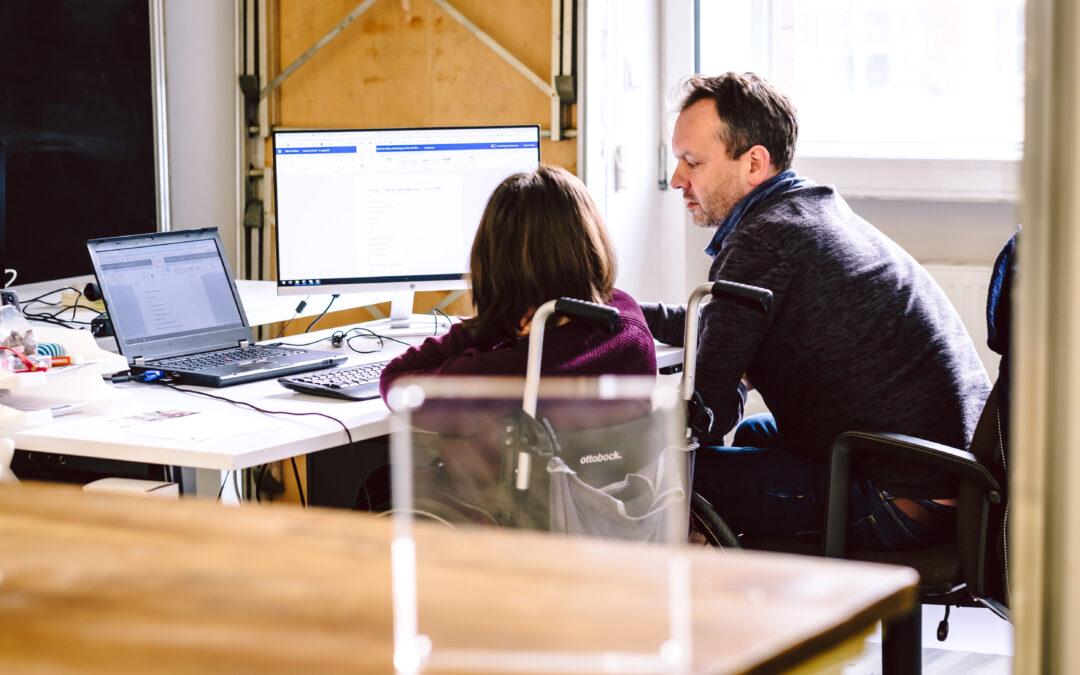 Job Coaching: Unterstützung für schwerbehinderte Arbeitnehmer*innen und Unternehmen  – von Anfang an